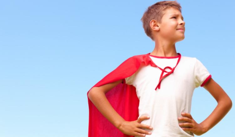 Super-Hero-boy